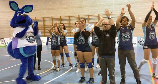 Photo of Contundente vitoria do Club Voleibol Ourense na 1ª  división nacional