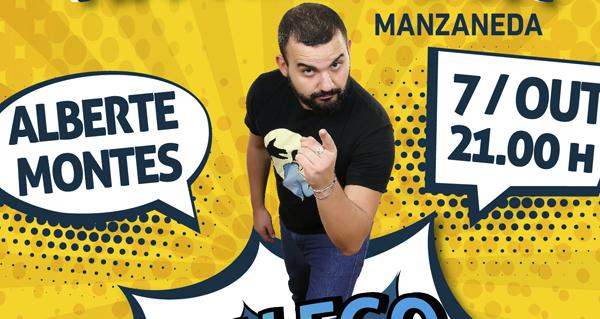 Photo of O actor e humorista Alberte Montes actúa este sábado en Manzaneda