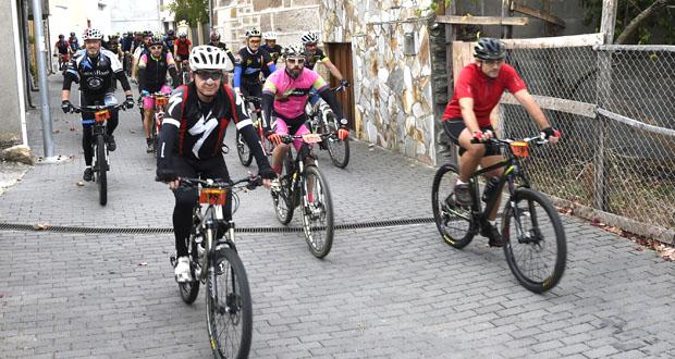 Photo of Máis dun cento de participantes na ruta BTT e andaina de Larouco