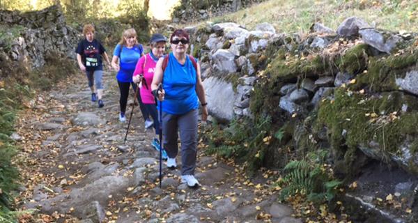 Photo of Un cento de participantes na VIII Andaina de Manzaneda e I Trail