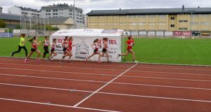 A XXXIV Copa Deputación de Atletismo reúne no Barco a un cento de participantes