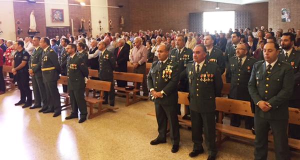 Photo of A Garda Civil do Barco honra á súa patroa
