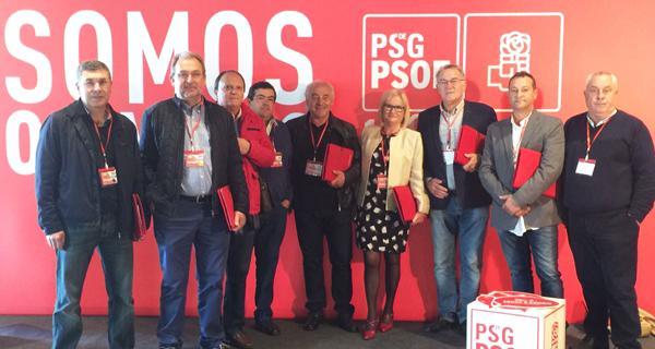 Photo of Comeza o 13º Congreso Nacional Galego do partido socialista
