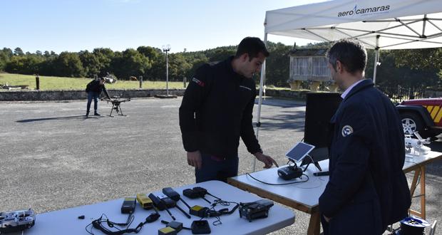 Photo of O Pazo de Vilamarín acolle un simulacro de busca de persoas con drons