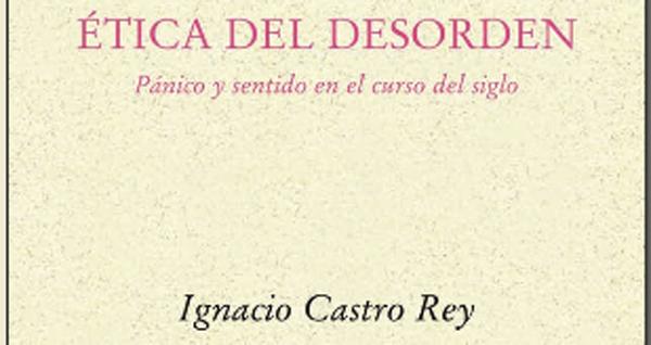 """Photo of """"Ética del desorden"""", do filósofo Ignacio Castro, preséntase en Santiago"""