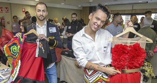 """Photo of Un traxe inspirado no Boteiro de Viana chega á final do casting de """"Maestros de la costura"""" de TVE"""