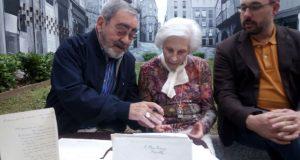 A Fundación Otero Pedrayo recibe as cartas que o escritor enviaba ao doutor Conde Corbal