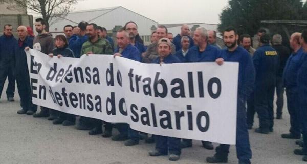Photo of Paros dos traballadores en Irosa