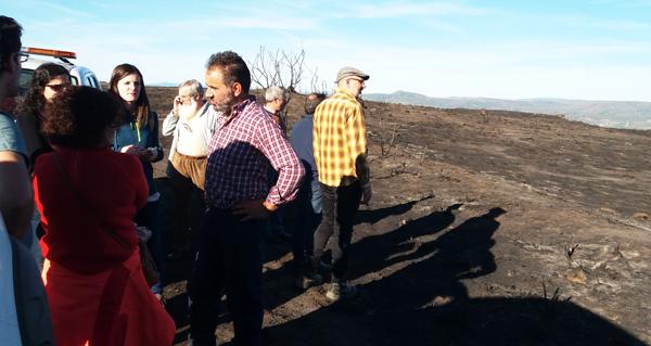 Photo of O BNG pide axudas directas polos efectos da seca e os lumes no oriente ourensán