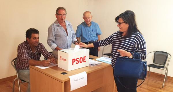 Photo of Votación ás primarias socialistas, no oriente ourensán