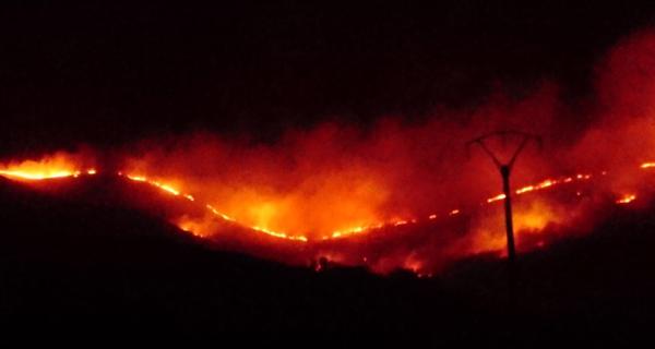 Photo of O incendio de Chaguazoso leva queimadas unhas 300 hectáreas