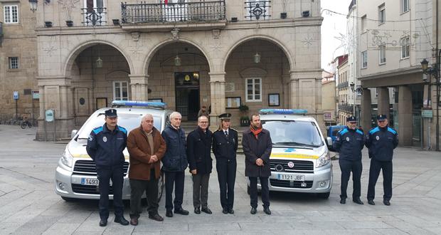 Photo of A Policía Local de Ourense incorpora dous novos vehículos cedidos pola DXT