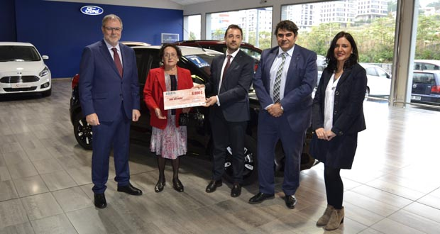 Photo of Rosa Freijedo gaña 6.000 euros no sorteo do 9º Salón do Automóbil