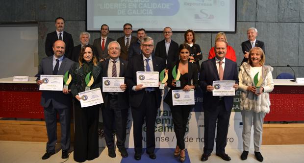 """Photo of A Fundación Valdegodos recibe o premio """"Líder en Calidade"""" en Expourense"""