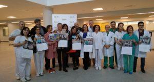 O calendario solidario de Down Ourense introduce aos usuarios no interior do CHUO