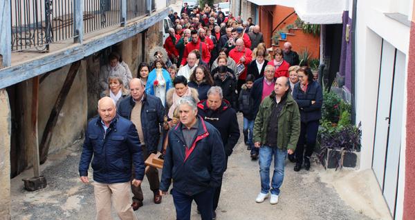 Photo of Baxeles (Vilamartín de Valdeorras) tamén rende culto a San Martiño