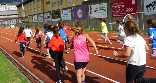 Photo of As pistas de atletismo do Barco, sede da Liga galega escolar das provincias de Lugo e Ourense