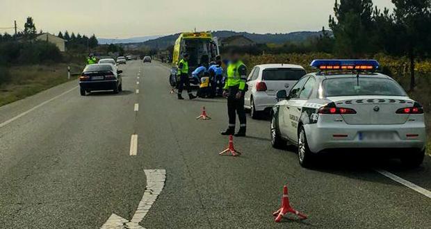 Photo of Ferido grave un ciclista de Verín ao seres atropelado na N-532