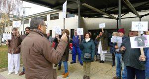 Nova concentración no Barco para pedir a retirada do anteproxecto de reforma da Lei de Saúde