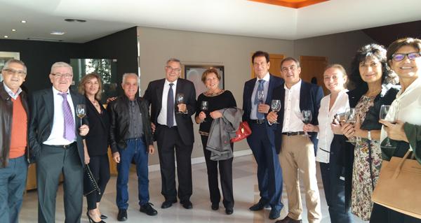 Photo of Brindes con viño valdeorrés na entrega dos XL Premios da Crítica de Galicia, en Vigo