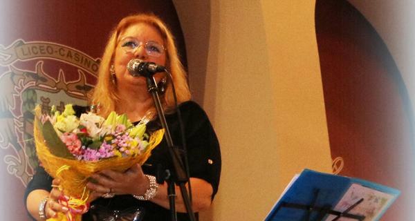 Photo of A valdeorresa Mª Carmen Gago, recoñecida como membro da Unión Nacional de Escritores de España