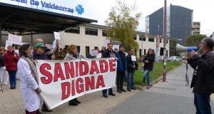 Continúan as concentracións en Valdeorras contra o anteproxecto de reforma da Lei de Saúde