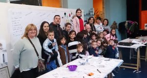Obradoiro infantil dedicado aos dereitos do neno en Trives