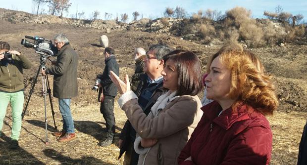 Photo of Medio Rural protexe os montes de Melón e Carballeda de Avia tras os lumes