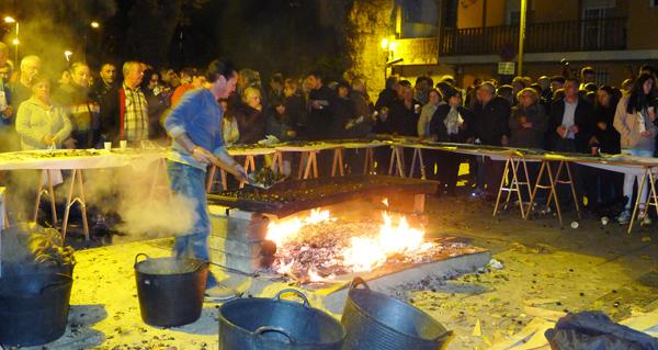 Photo of Entre castañas asadas e música, no Magosto de Viloira