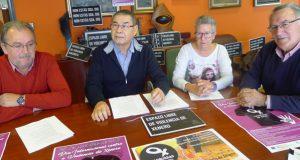 Unha andaina solidaria, entre os actos do Día contra a Violencia de Xénero en Valdeorras