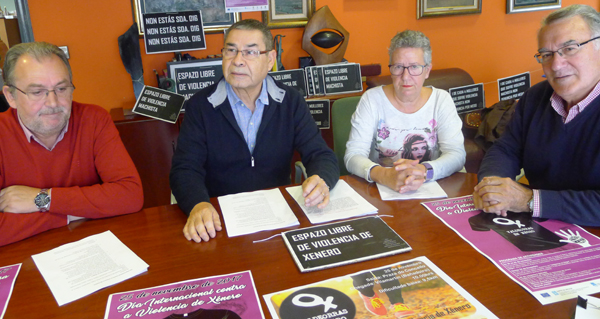 Photo of Unha andaina solidaria, entre os actos do Día contra a Violencia de Xénero en Valdeorras