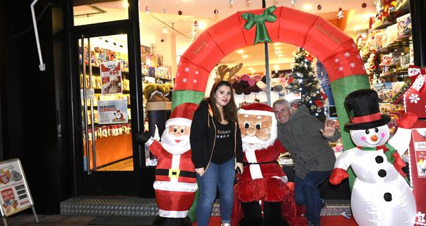 Photo of Papá Noel chega ao Barco da man de Pc-Red Exclusivo