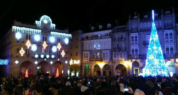 Photo of (Vídeo) Ourense preme o botón vermello e dá inicio ao Nadal