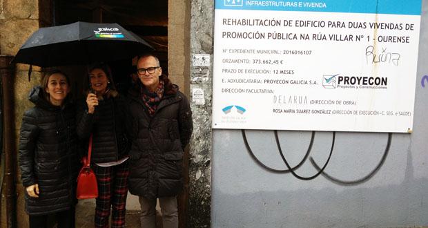 Photo of Vivenda investirá dous millóns en rehabilitar dous edificios no Casco Vello de Ourense