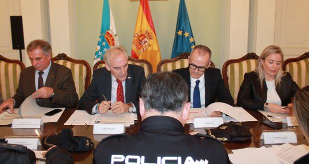Photo of A actividade delictiva segue a súa tendencia á baixa no 2017 en Ourense