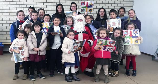 Photo of Panxoliñas, agasallos e doces para celebrar o comezo do Nadal no CEIP de O Bolo