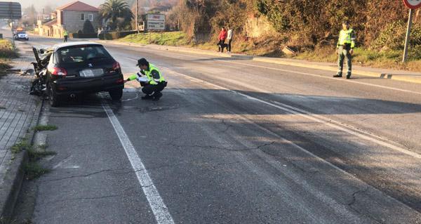 Photo of Falece unha persoa nun accidente de tráfico en Santa Cruz de Arrabaldo