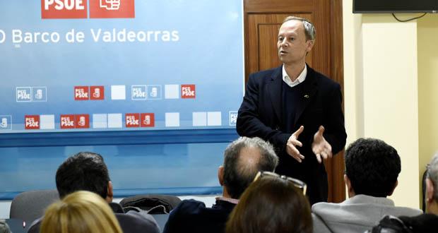 Photo of Rafael Rodríguez reúnese coa agrupación socialista do Barco