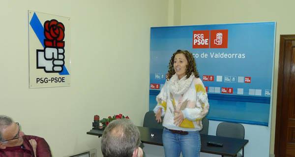 Photo of Noela Blanco reúnese coa militancia valdeorresa a tres días das primarias socialistas