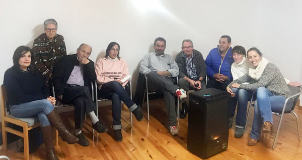 Photo of Noela Blanco reúnese coa agrupación socialista de Viana do Bolo