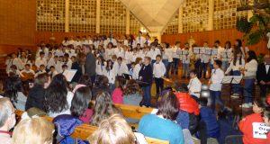 Festival de Panxoliñas dos colexios barquenses e do Orfeón Valdeorrés