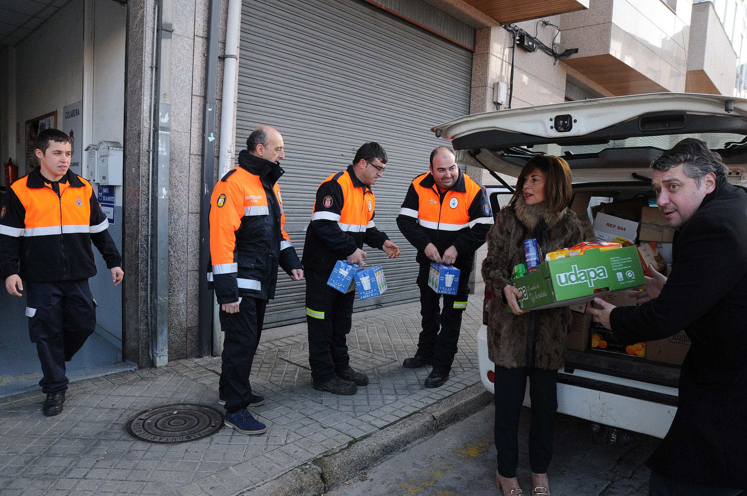 Photo of As agrupacións de Protección Civil da provincia promoven unha campaña de recollida de alimentos
