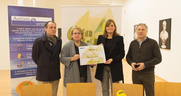 """Photo of """"Cata a Arte"""", organizado pola D.O. do Ribeiro, recadou 600 euros para Autismo Ourense"""