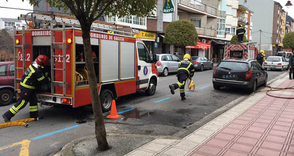 Photo of Simulacro de incendio no Hospital Comarcal Valdeorras