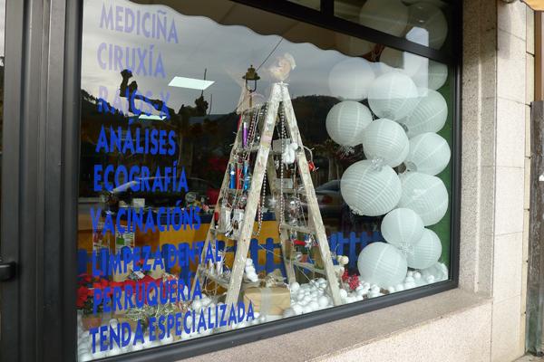 Photo of O Nadal nos escaparates do comercio da provincia de Ourense