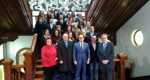 Os Farmacéuticos de Ourense volven ao lugar onde se fundou o Colexio hai 100 anos