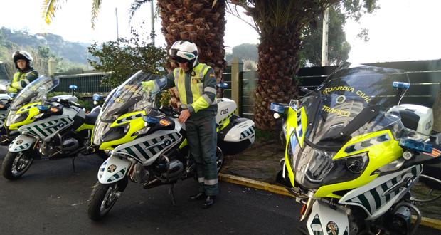 Photo of Tráfico dota de catro novas motos ao destacamento da Garda Civil do Barco