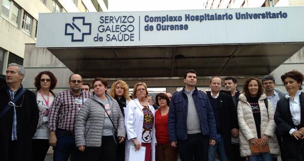 """Photo of Gonzalo Caballero (PSdeG) critica que Feijóo """"dea as costas"""" ás protestas do CHUO"""