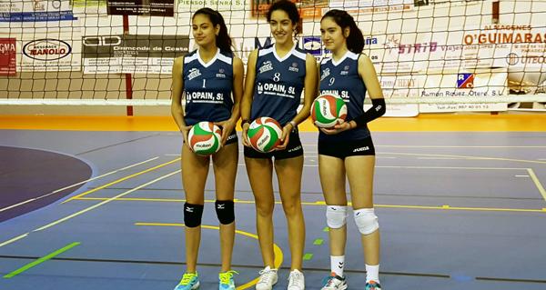 Photo of Dúas quiroguesas, convocadas pola Federación Galega de Voleibol