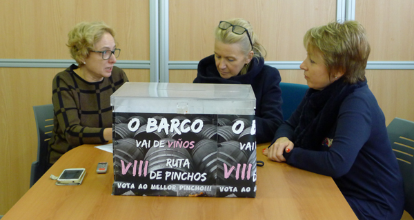 """Photo of Os hostaleiros servían 8.584 pinchos na VIII Ruta """"O Barco vai de viños"""""""
